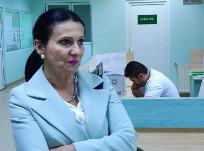 Sorina Pintea, după controlul inopinat la Ploieşti: Spitalul nu era curat, iar medicii nu fac faţă