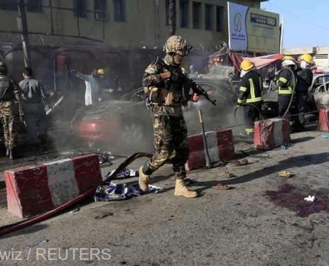Doi dintre militarii români răniți în Afganistan sunt internați la Spitalul Universitar Carol Davila